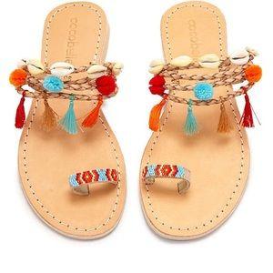 Cocobelle Kopi Toe Ring Sandals Santa Fe 8.5/39
